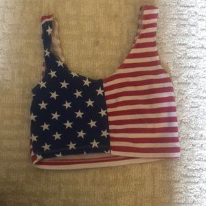 Fourth of July crop top!